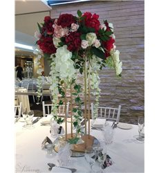Red Real Touch Centerpieces